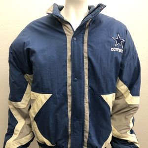 Dallas Cowboys Vintage Starter Full Zip Jacket XL